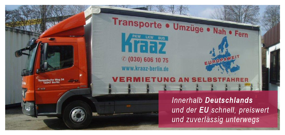 home kraaz autovermietung berlin f r umzugswagen transporter lkw und sprinter. Black Bedroom Furniture Sets. Home Design Ideas